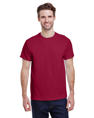 Cardinal Red Premium Ultra Cotton T as seen from the front