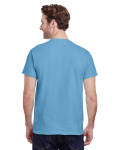 Carolina Blue Premium Ultra Cotton T as seen from the back