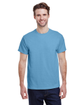 Carolina Blue Premium Ultra Cotton T as seen from the front
