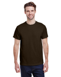 Dark Chocolate Premium Ultra Cotton T as seen from the front
