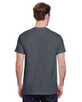 Dark Heather Premium Ultra Cotton T as seen from the back