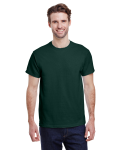 Forest Green Premium Ultra Cotton T as seen from the front