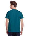 Galapagos Blue Premium Ultra Cotton T as seen from the back