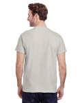 Ice Grey Premium Ultra Cotton T as seen from the back