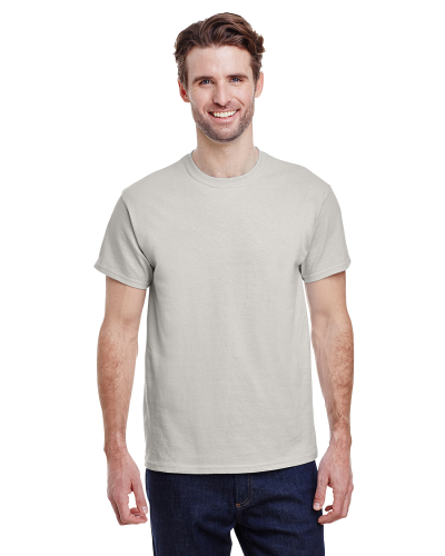 Ice Grey Premium Ultra Cotton T as seen from the front