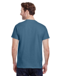 Indigo Blue Premium Ultra Cotton T as seen from the back