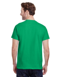 Irish Green Premium Ultra Cotton T as seen from the back