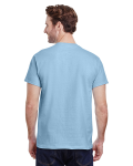 Light Blue Premium Ultra Cotton T as seen from the back