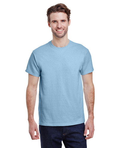 Light Blue Premium Ultra Cotton T as seen from the front