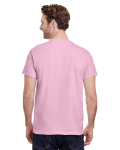 Light Pink Premium Ultra Cotton T as seen from the back