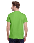 Lime Premium Ultra Cotton T as seen from the back
