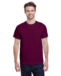 Maroon Premium Ultra Cotton T as seen from the front