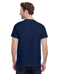 Navy Premium Ultra Cotton T as seen from the back
