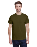 Olive Premium Ultra Cotton T as seen from the front