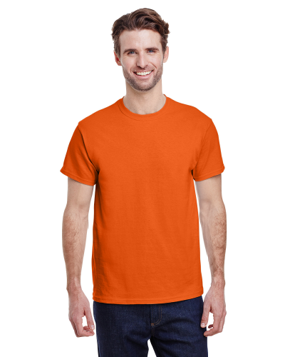Orange Premium Ultra Cotton T as seen from the front