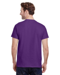 Purple Premium Ultra Cotton T as seen from the back