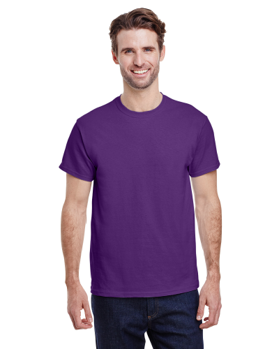 Purple Premium Ultra Cotton T as seen from the front