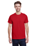 Red Premium Ultra Cotton T as seen from the front