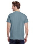 Stone Blue Premium Ultra Cotton T as seen from the back