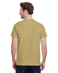 Tan Premium Ultra Cotton T as seen from the back