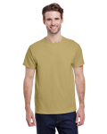 Tan Premium Ultra Cotton T as seen from the front