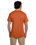 Texas Orange Premium Ultra Cotton T as seen from the back