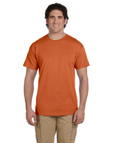 Texas Orange Premium Ultra Cotton T as seen from the front