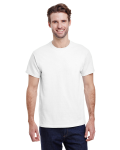 White Premium Ultra Cotton T as seen from the front