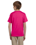 Heliconia Youth Premium Ultra Cotton T as seen from the back