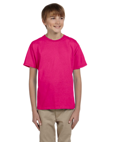 Heliconia Youth Premium Ultra Cotton T as seen from the front