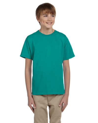 Jade Dome Youth Premium Ultra Cotton T as seen from the front