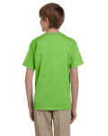 Lime Youth Premium Ultra Cotton T as seen from the back