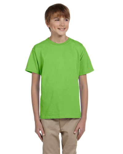Lime Youth Premium Ultra Cotton T as seen from the front