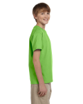 Lime Youth Premium Ultra Cotton T as seen from the sleeveleft