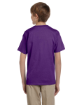 Purple Youth Premium Ultra Cotton T as seen from the back