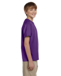 Purple Youth Premium Ultra Cotton T as seen from the sleeveleft