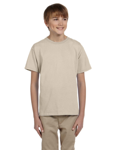 Sand Youth Premium Ultra Cotton T as seen from the front
