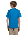 Sapphire Youth Premium Ultra Cotton T as seen from the back