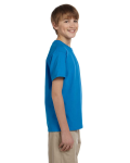 Sapphire Youth Premium Ultra Cotton T as seen from the sleeveleft