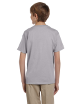 Sport Grey Youth Premium Ultra Cotton T as seen from the back