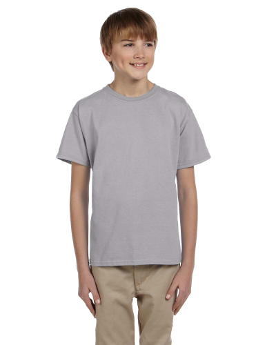 Sport Grey Youth Premium Ultra Cotton T as seen from the front