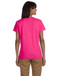 Heliconia Ladies' Premium Ultra Cotton T as seen from the back
