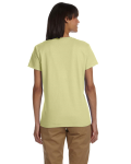 Pistachio Ladies' Premium Ultra Cotton T as seen from the back