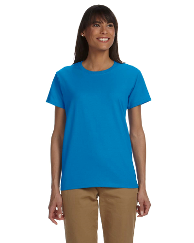 Sapphire Ladies' Premium Ultra Cotton T as seen from the front