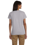 Sport Grey Ladies' Premium Ultra Cotton T as seen from the back