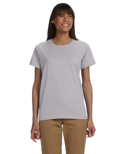 Sport Grey Ladies' Premium Ultra Cotton T as seen from the front