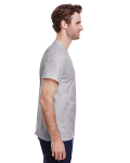 Sport Grey Tall Premium Ultra Cotton T as seen from the sleeveleft