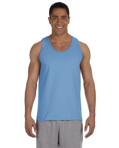 Carolina Blue Premium Cotton Tank as seen from the front