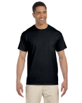 Black Premium Ultra Cotton Pocket T as seen from the front