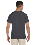 Charcoal Premium Ultra Cotton Pocket T as seen from the back